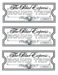 Polar Express Coloring Pages Idea And Printable Tickets Sheets Free