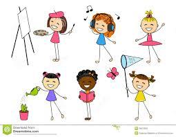hobbies for kids. hobbies clip art for kids