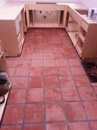 Kitchens With Saltillo Tile Floors Saltillo Floor Refinished Connoisseur Carpet Cleaning Santa Cruz