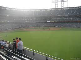 San Francisco Giants Stadium Seating Map Best Seat 2018