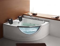 modern freestanding corner tub