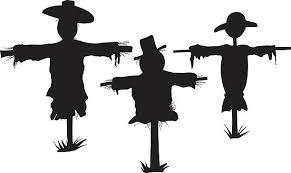 454 Scarecrow Silhouette Illustrations & Clip Art - iStock