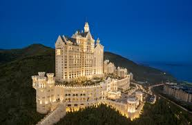 Hotel Castle Blue Castle Hotels Your Own Beauty And The Beast Fairytale Cnn Travel