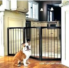outdoor dog gate indoor door baby with pet hallway barrier barricade wooden wood child gates and