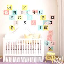 letter wall decals colorful woodblock alphabet removable wall decals letter wall decals canada letter wall decals