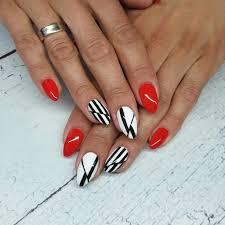 Red And White Nail Designs Elegant Nails 32 Elegant Nail Art Design Ideas Nail Shapes
