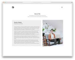 best vcard wordpress themes for your online resume colorlib kalium lancer wordpress website template