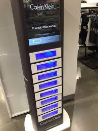 Phone Charging Vending Machine Interesting Free Phone Charging Secure Locker Station Every Store Should Have