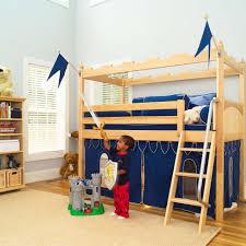 maxtrix kids camelot castle low loft bed