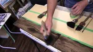 Wood Looking Paint How To Paint A Faux Wood Floor Tutorial Youtube