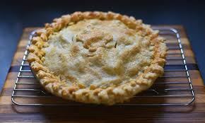 Harvest Apple Pie With Maple Leaf Decorations Spent All Flickr