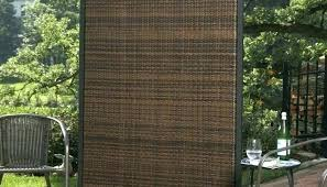 white resin privacy screen wicker outdoor panels for deck chippy s timber screening screens outdoors 4