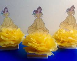 Belle Birthday Decorations Belle centerpiece Etsy 57