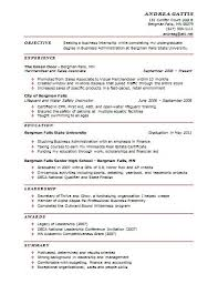 One Page Resume Example Stunning Resume In One Page Sample 48 Ifest