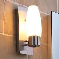Badezimmer Wandleuchte Marian Mit E14 Led Lampe Kaufen Bei