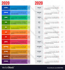 Planner 2020 Template Yearly Wall Calendar Planner Template For 2020