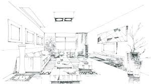Interior design drawings perspective Sketch Drawings Living Room Design Drawings Of Living Rooms Living Room Elevation Drawing New Plan