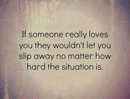 If You Really Love Someone Quotes New Quotes About Realizing Someone You Love On QuotesTopics
