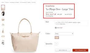 40 Off On Longchamp Bags