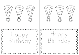 Birthday Cards Images Free Coloring Happy Birthday Card Print Out Cards Free Printable
