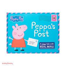 Sách tiếng Anh thiếu nhi Peppa Pig: Peppa's Post - kiddylibrary.com