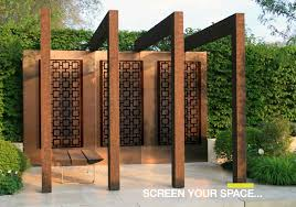 decorative external garden screens privacy panels patio dma homes within outdoor ideas 19