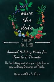 Garden Save The Date Template Postermywall