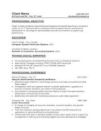 Sample General Resume Objectives Resume Directory