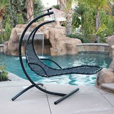 impressive on hanging patio chair chaise lounge hammock swing canopy glider outdoor decorating images