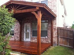 corbel deck mckinney patio cover