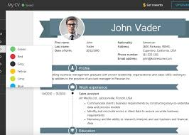 visual resume maker - 7cv maker web based infographic style visual ...