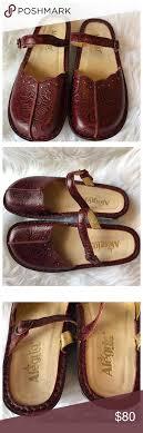 alegria tuscany leather slip ons alegria tuscany leather slip on mary janes adjustable straps