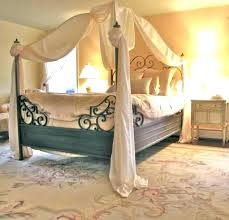Canopy Bed Curtains Queen Drapes Creative Cool Modest 5 #12470