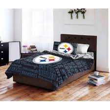 pittsburgh steelers comforter set nfl queen 5pc official sheets bedding bed bag