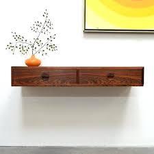 console shelf floating console shelf floating console table danish modern rosewood floating entry console x px console shelf