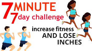 Fitness Health 7 Minute Workout 7 Day Challenge To Increase Your Fitness Health For Weight Loss Start Now