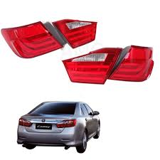 Toyota Camry Acv50 Hcv50 Hybrid Ccfl Tail Lamp Light Bar Bmw Style ...