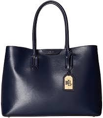 leather tote bags lauren ralph lauren tate city tote