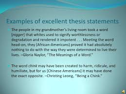 definition essay  definition looks like 12 examples of excellent thesis statements  the
