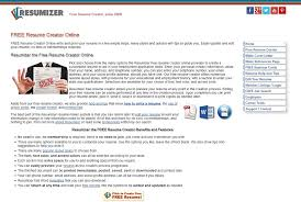 Resume Creator Free Best Resumizer Free Resume Creator Alternatives And Similar Websites And