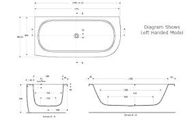 standard size bathtub length majestic looking bath tub with australia b standard bathtub length