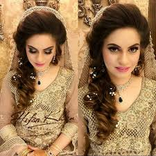 stylish and trendy stani bridal wedding hairstyles for your special day