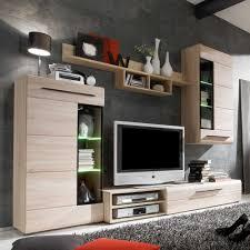 Lovely Design Ideas Wohnzimmer Eiche Sägerau Sagerau Wohnwand