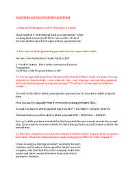 Doc Accenture Sap Fico Interview Questions Lucky V