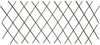 mewmewcat Willow <b>Trellis Fences 5 pcs</b> Privacy Screen Extendable ...
