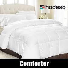 home bedding fiber fill comforter blanket white quilt duvet insert twin queen king