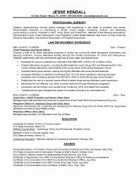 Law Enforcement Resume Template 24 Luxury Law Enforcement Resume Template Resume Sample Template 15