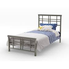 Steel Bedroom Furniture Simple Twin Single Bed Headboards Metal Steel Material Beautiful