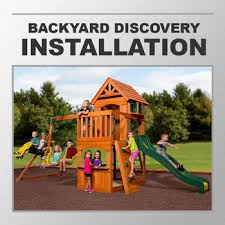 installation service for 285234 backyard discovery atlantic swing set