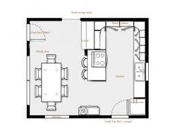 attractive interesting 30 galley kitchen floor plans design ideas of best 25 at layout